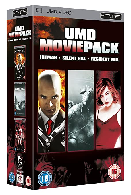 UMD Movie Pack - Silent Hill/Resident Evil/Hitman 2002 Reino Unido ...