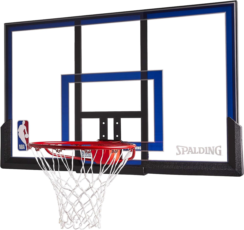 Spalding Wall Mount Basketball Hoop with 50-Inch Acrylic Backboard