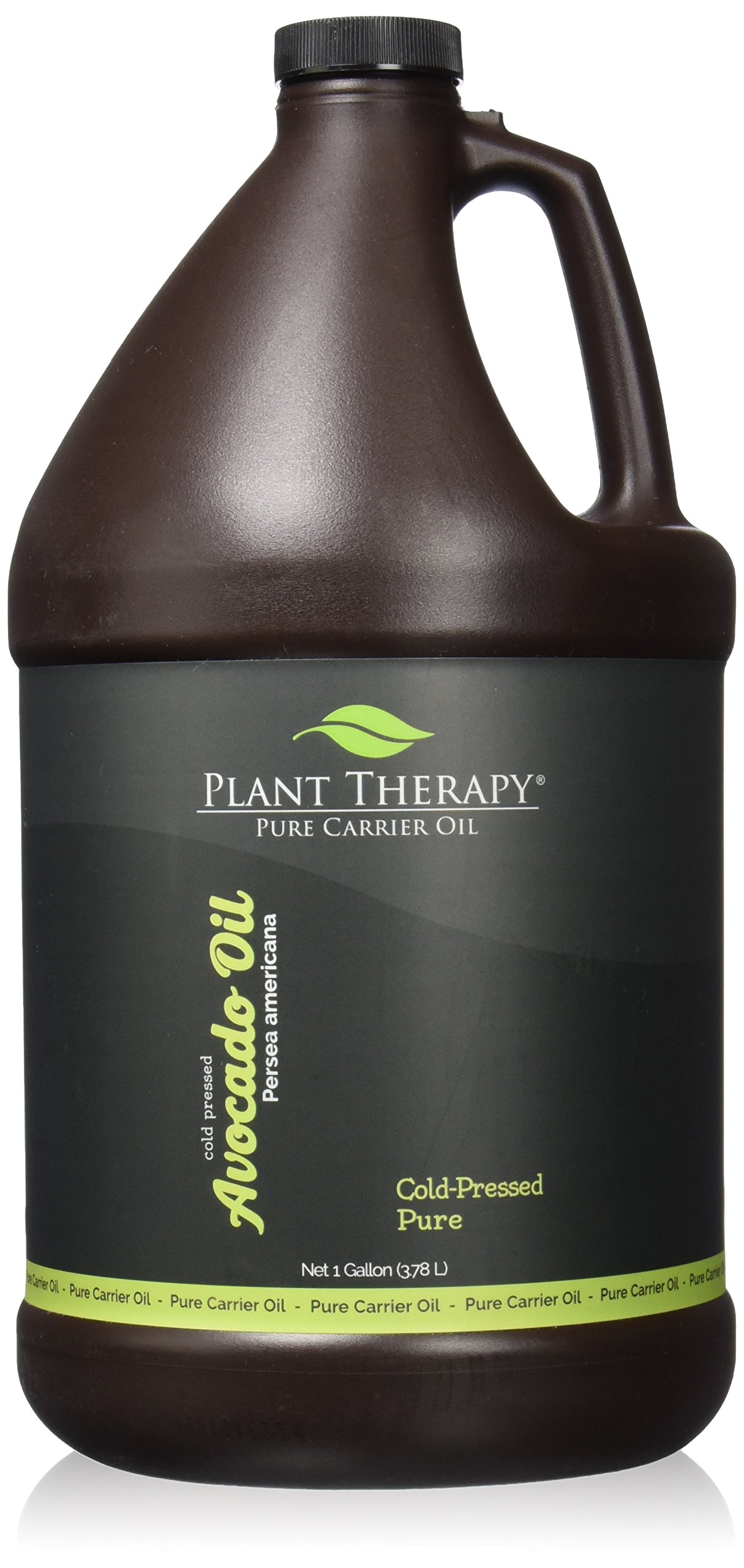 Plant Therapy Avocado Carrier Oil. A Base Oil for Aromatherapy, Essential Oil or Massage Use. 1 gal.