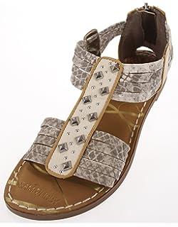 db3431c3a Sam   Libby Women s Kayla Gladiator Sandal with Top Studded Panel