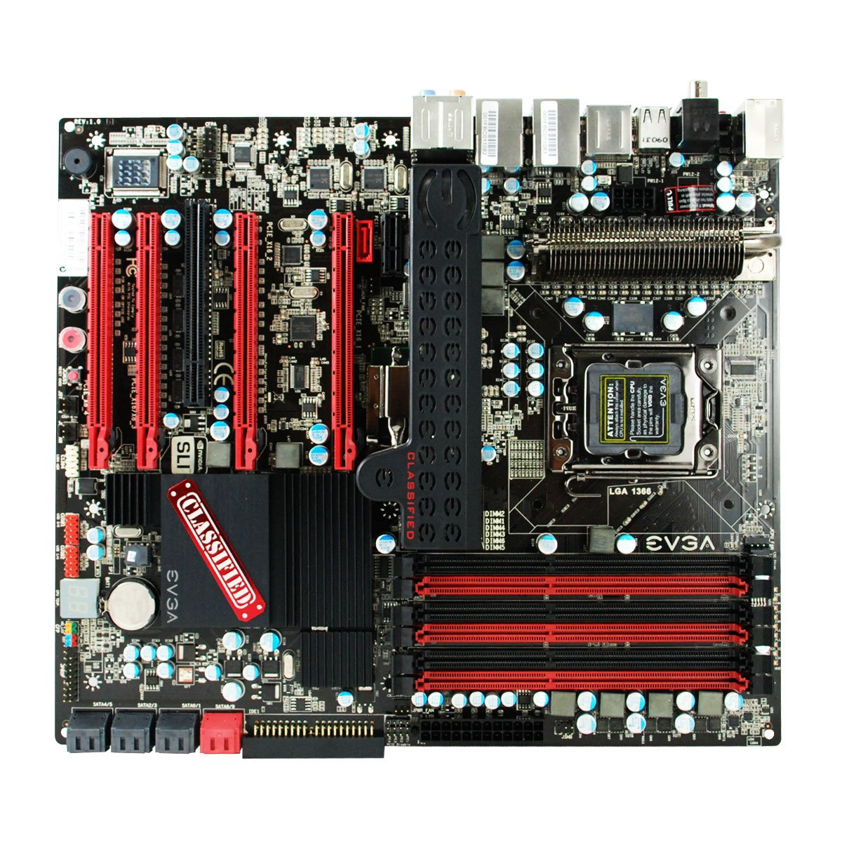 Amazon.com: EVGA 141-BL-E760-A1 X58 Classified SLI Mainboard: Electronics