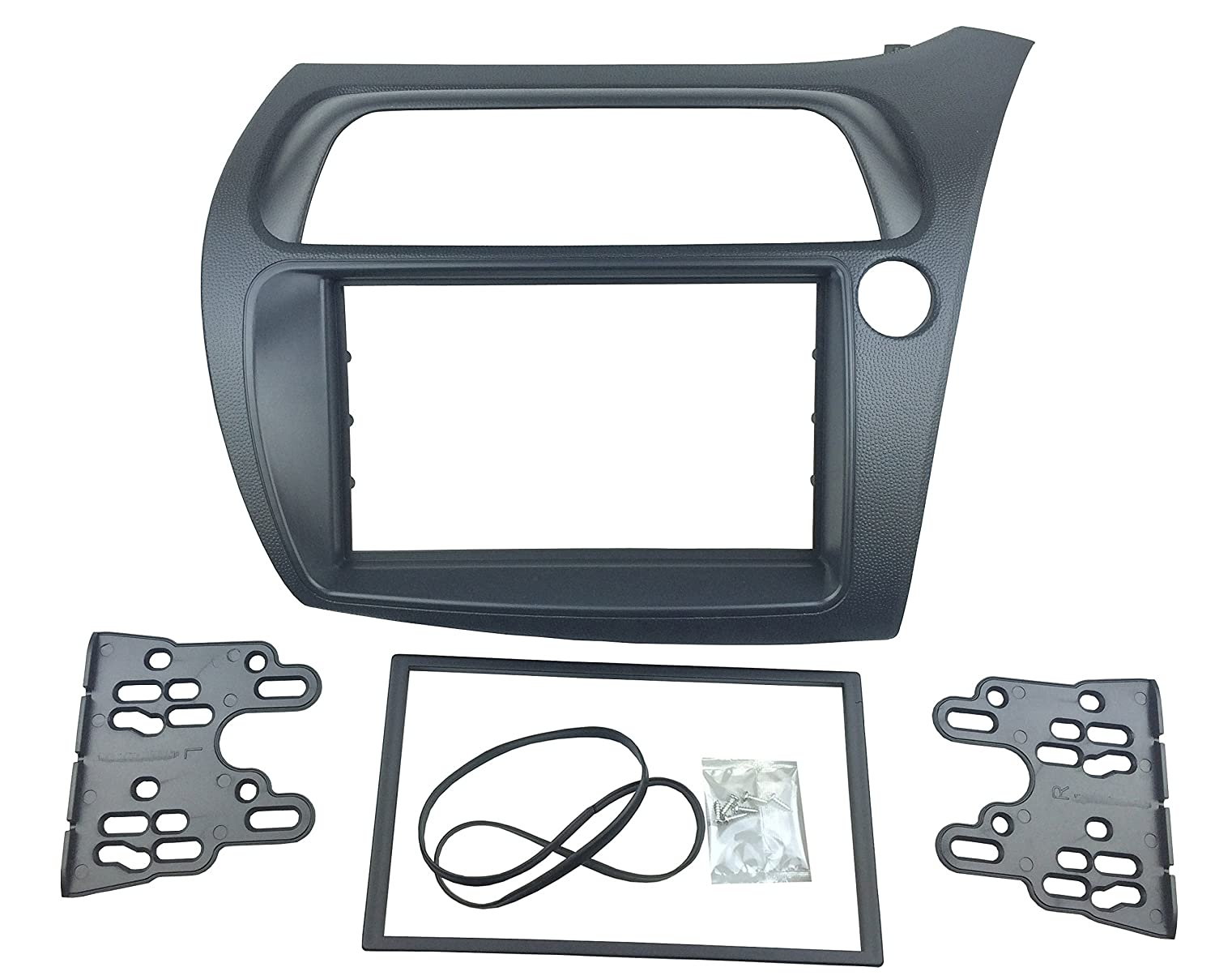 MAXIOU DKM013HO Double Din Stereo Facia Adaptor with Iso Wiring Cable Aerial (178*102Mm Opening) MAXIOU Auto Part Co. Ltd.