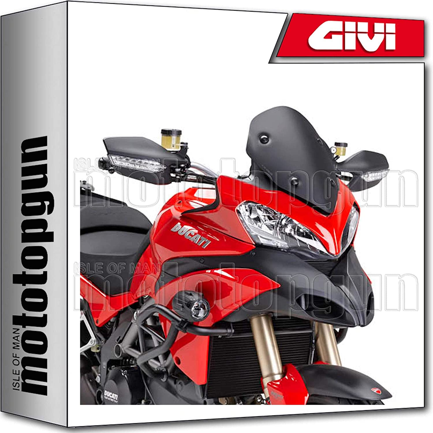 GIVI WIND-SCREEN LOW D7401NO DUCATI MULTISTRADA 1200 2013 13 2014 14
