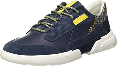 Onza Descripción del negocio brumoso  GEOX U PRJ 10 A NAVY/DK BLUE Men's Trainers Low-Top Trainers size 45(EU):  Amazon.es: Zapatos y complementos