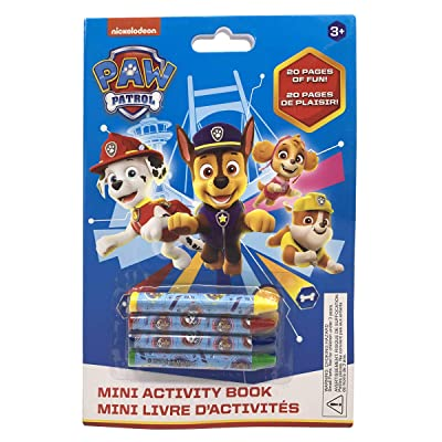Danawares Paw Patrol Boy Mini Activity Book with 4 Crayons Age/Grade 3+: Toys & Games