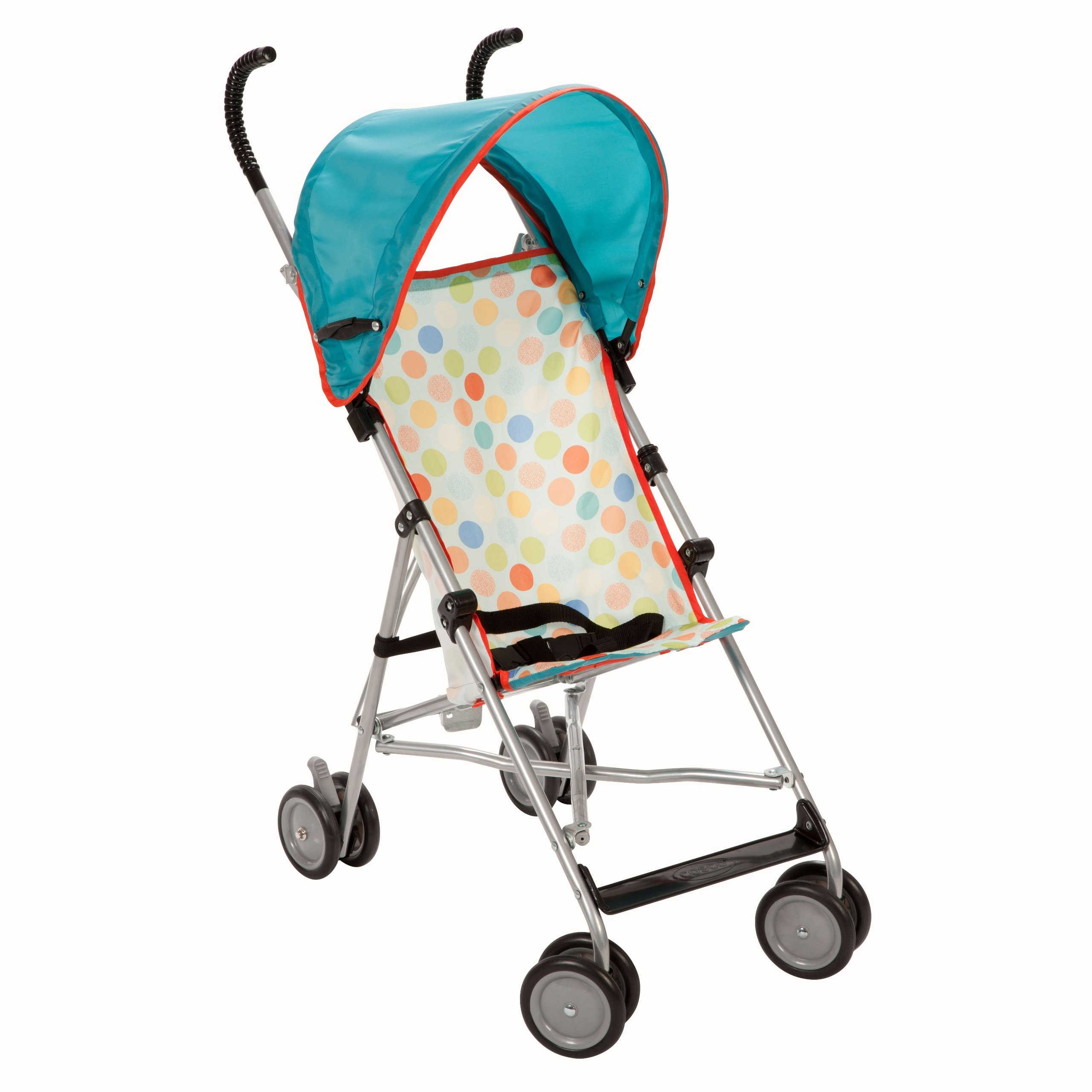 Cosco Umbrella Stroller with Canopy, Dots Prior Model)