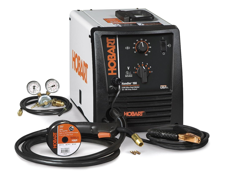 Hobart 500554 Handler 190 Mig Welder 230v Power Welders Wiring A 240v Plug