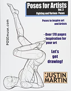 Amazon com: Poses for Artists Volume 1 - Dynamic and Sitting Poses