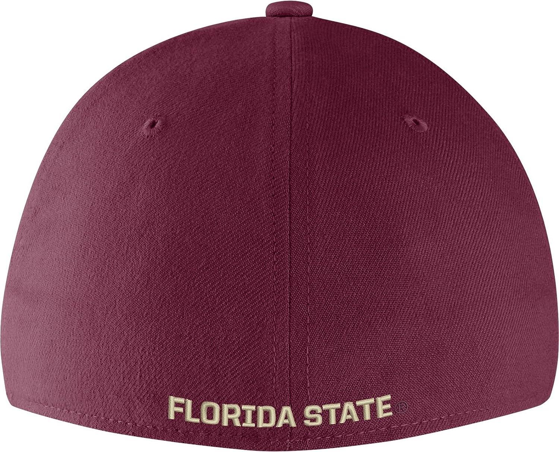 7eb4cf8f914ac8 Amazon.com: Nike Men's Florida State Seminoles Garnet Vault Dri-FIT Swoosh  Flex Hat (OneSize): Clothing