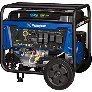 Westinghouse Wgen9500DF 50 amp generator