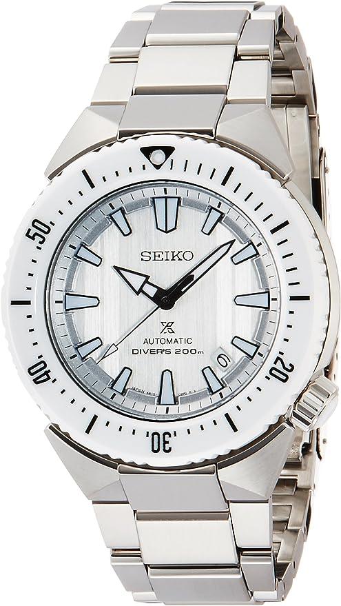 [セイコーウォッチ] 腕時計 プロスペックス ゼロハリバートンコラボレーション限定500本 ダイバー 自動巻(手巻つき) サファイアガラス SBDC043 シルバー