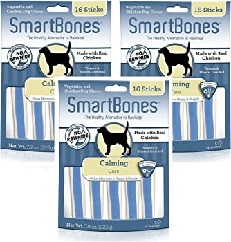 SmartBones soothing Care Chicken Chews Dog Treats