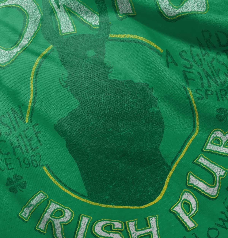 Loki Irish Pub Thor Comics Superhero Drinking Beer Ragnarock T-Shirt by Brisco Brands (Image #5)