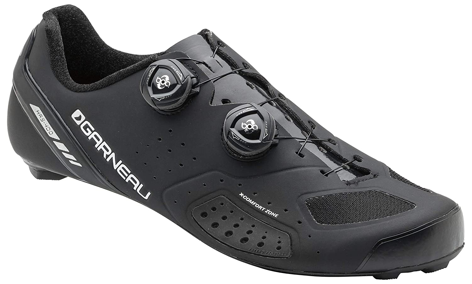 Louis Garneau Course Air Lite 2バイク靴、ブラック、47 B0741FC812