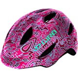 Giro Scamp Youth Recreational Bike Cycling Helmet - Small (49-53 cm), Pink Flower Land (2020)