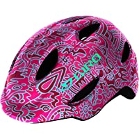 Giro Scamp MIPS Youth Recreational Bike Cycling Helmet - Extra Small (45-49 cm), Pink Flower Land (2020)