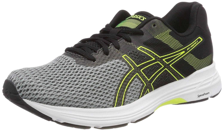 Asics Gel-Phoenix 9, Zapatillas de Running para Hombre 40 EU|Multicolor (Stone Greyblacksafety Yellow)