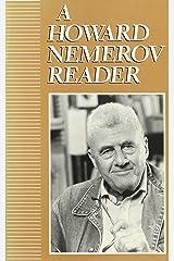 A Howard Nemerov Reader Paperback