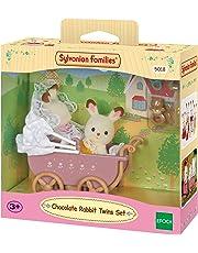 Sylvanian Families 5018 Chocolate Rabbit Twins Set