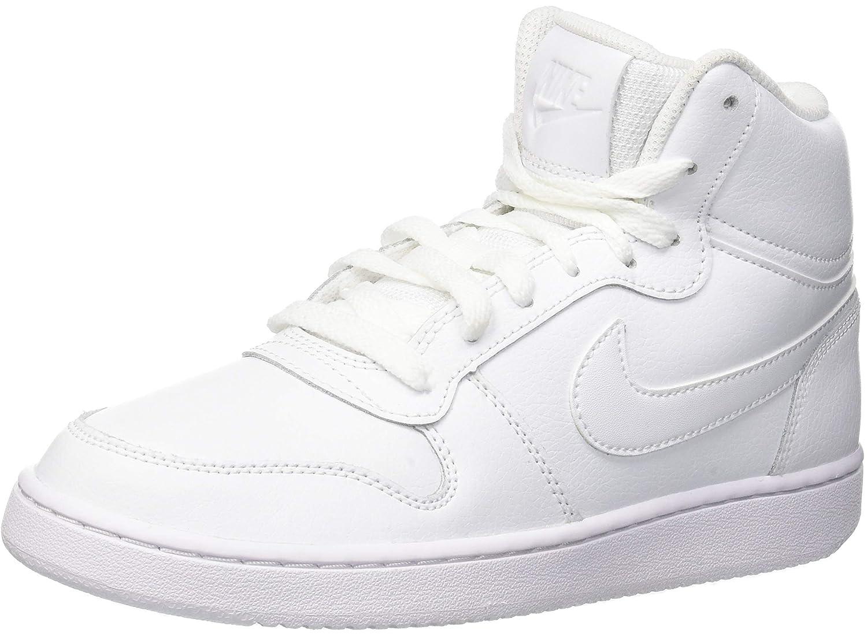 Weiß (Weiß Weiß 100) Nike Damen Ebernon Mid Turnschuhe