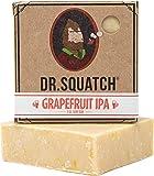 Dr. Squatch Beer Soap Bar – Crisp IPA Men's Bar Soap with Beer and Distilled Hops – Soap for Men with Natural Citrus…