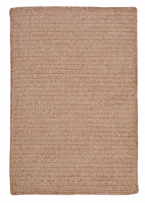 Ambiant Sand Bar Chair Pad M801 Kids / Teen Neutral 15''X15'' (SET 4) - Area Rug