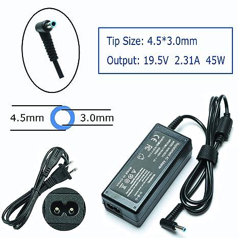 19.5V 2.31A 45W AC Laptop Charger for HP Laptop Pavilion x360 15-f272wm 15-f305dx 15-f387wm 15-f271wm P/N:HSTNN-DA40 741727-001 740015-003 Power ...
