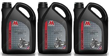 Millers Oils ZSS 4T 10W40 Aceite semisintético para Motor de Motocicleta, 12 litros