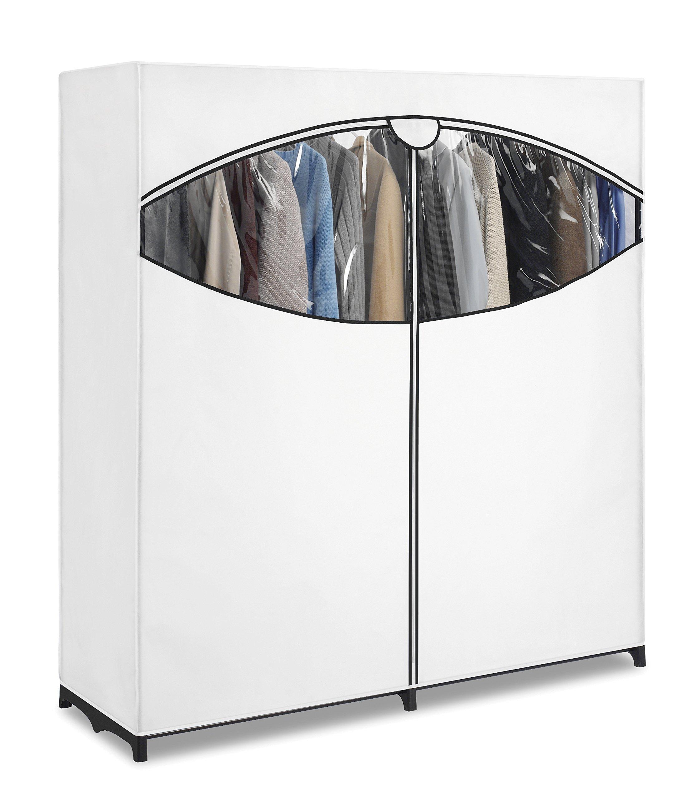 Clothes Closet Extra Wide Portable Wardrobe Breathable