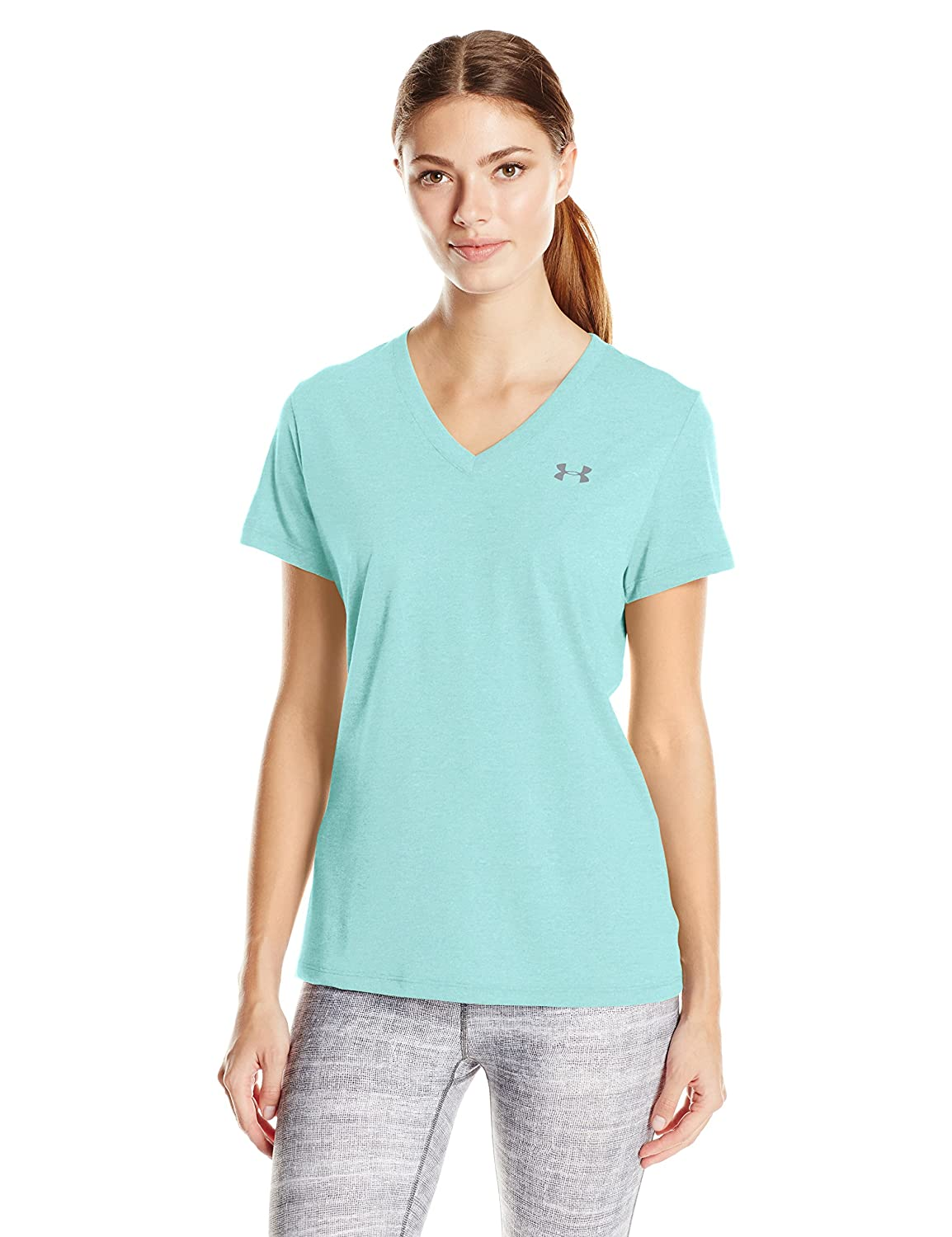 Under Armour Women's Threadborne Train Twist V-Neck Top Under Armour Apparel 1289650