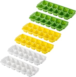 Green Direct Ice Cube Trays It Makes The Perfect Ice Cube for your beloved drink Pack of 6