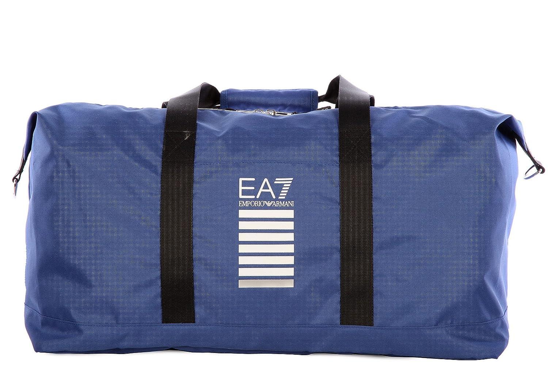 Emporio Armani EA7 sac de voyage en nylon weekend core cabin gym blu   Amazon.fr  Chaussures et Sacs 4a8b38f426f5