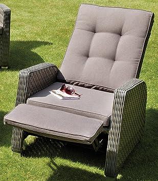Relaxsessel garten  Relaxsessel, Rückenlehne und Fußteil getrennt voneinander ...