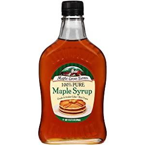 Maple Grove Farms Pure Maple Syrup, 12.5 oz