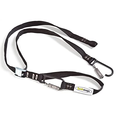 Lockstraps 101 Locking Tie Down Strap, 8.5 Feet, Black: Lockstraps Inc.: Automotive