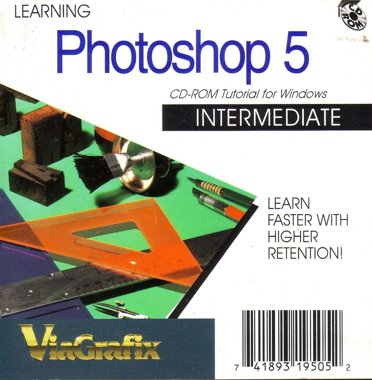 Amazon com: LEARN2 COM Learning Photoshop 5 Intermediate (VHS)