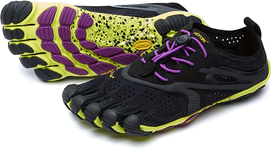 Vibram FiveFingers Women's V Run Shoes & Toesocks Bundle