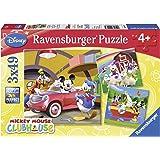 Ravensburger - 09247 - Tout le monde aime Mickey - 3 x 49 Pièces