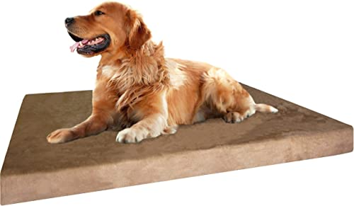 Dogbed4less-Memory-Foam-Dog-Bed