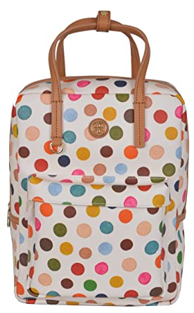 Tory Burch Women's Kerrington Top Handle Multi Dot Backpack