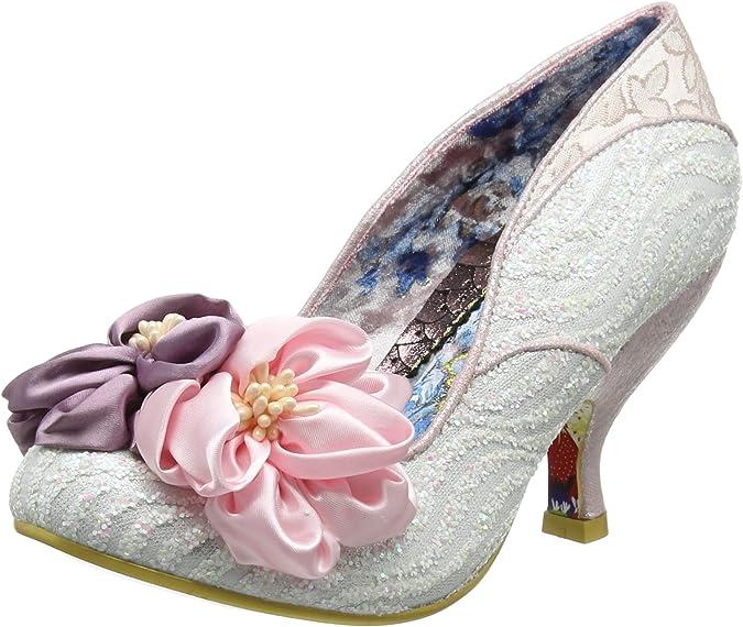 Irregular Choice Little Peaches, Zapatos de tacón con Punta Cerrada para Mujer