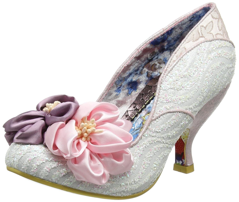 TALLA 36 EU. Irregular Choice Little Peaches, Zapatos de tacón con Punta Cerrada para Mujer
