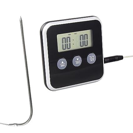 Termómetro digital (4925) de punción/cocina/tostado/horno de Lantelme,