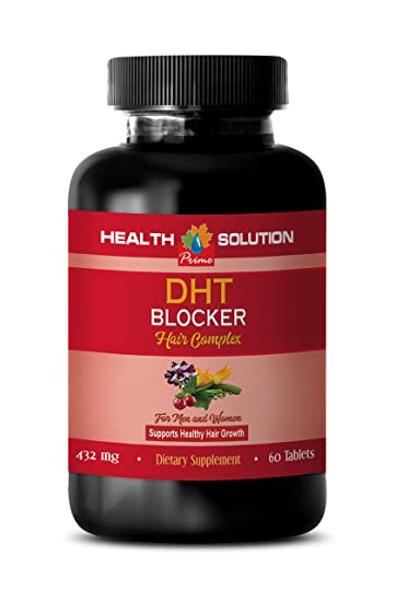 Amazon Com Hair Growth Supplement Natural Dht Blocker Hair