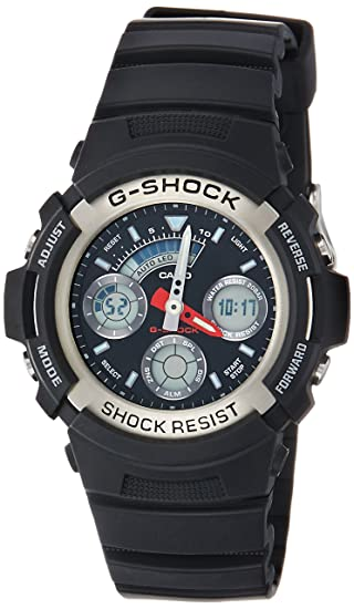 a01faf057c76 Casio Men s AW590-1A G-Shock Ana-Digi Chronograph Sport Watch  Casio   Amazon.ca  Watches