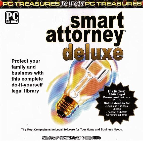 Amazon com: Smart attorney delux - PC CD - Rom