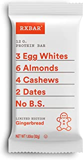 product image for Rxbar, Gingerbread Protein Bar, 1.83 Ounce