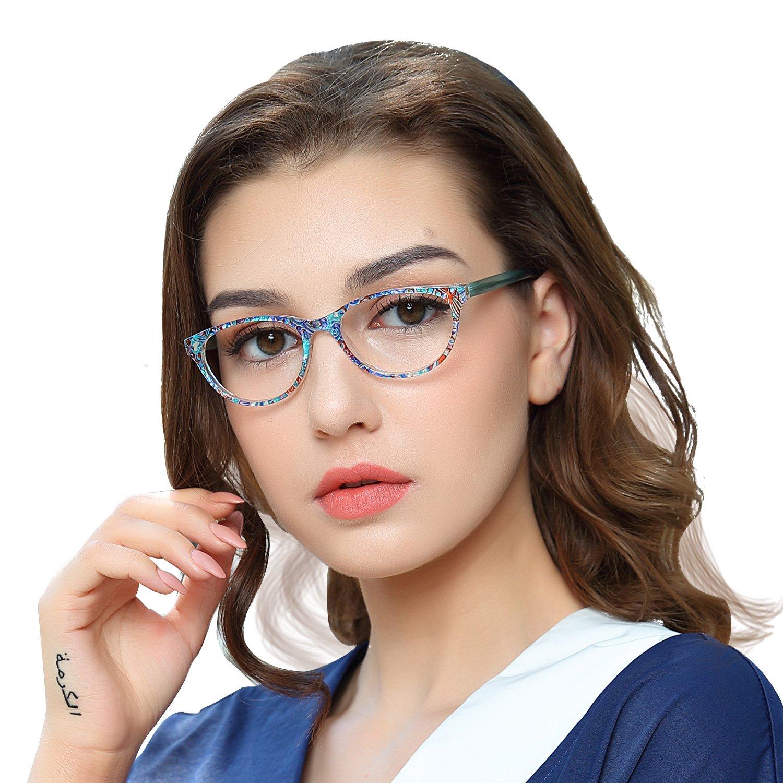 OCCI CHIARI Telaio occhiali Struttura di vetri ottici Occhiali senza prescrizione pellicola trasparente per uomini e donne