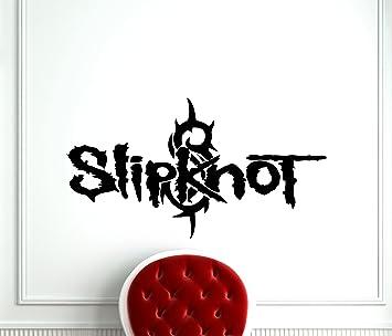 amazon co jp slipknotロゴ壁デカールロックバンドエンブレムmusic