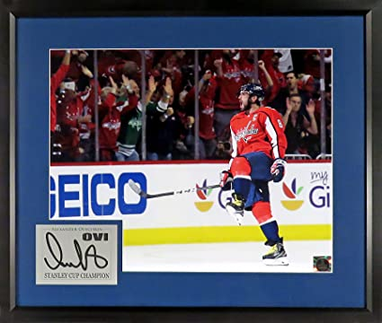 """27033b851 Image Unavailable. Image not available for. Color: Washington Capitals  Alexander Ovechkin """"Stanley Cup Champion"""" 16x20 Photograph (SGA Signature  Engraved ..."""
